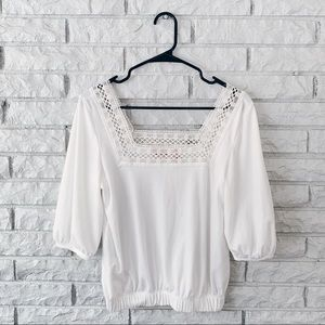 NEW Willow and Root Square Neck Cropped Top
